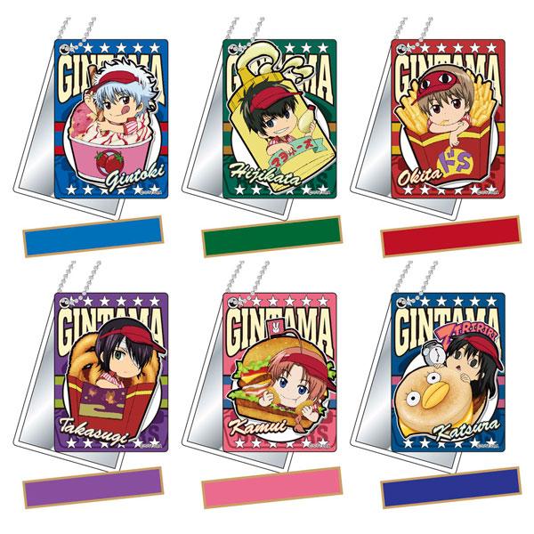 スライドミラー 銀魂 バーガーショップシリーズ 10個入りBOX[バンダイ]《発売済・在庫品》