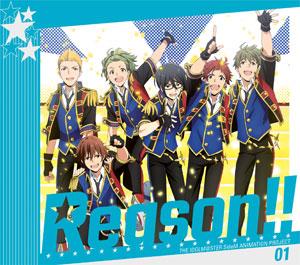 CD THE IDOLM@STER SideM ANIMATION PROJECT 01「Reason!!」初回限定盤 Blu-ray Disc付[ランティス]《取り寄せ※暫定》