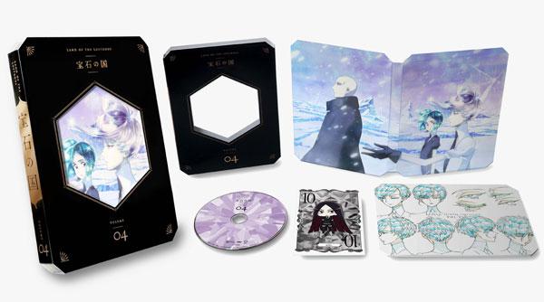 BD 宝石の国 Vol.4 Blu-ray 初回生産限定版[東宝]《発売済・在庫品》