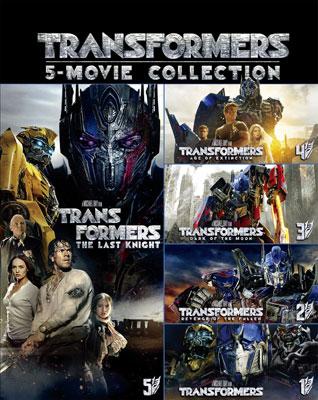 BD トランスフォーマー ブルーレイシリーズパック (Blu-ray Disc)[NBC]《取り寄せ※暫定》