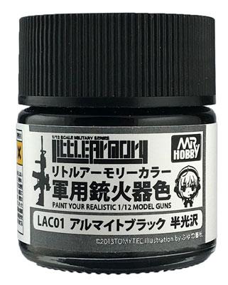 LAC01 Mr.カラー特色 リトルアーモリカラー アルマイトブラック[GSIクレオス]《発売済・在庫品》