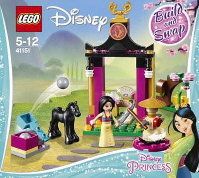 """レゴ ディズニー ムーラン""""寺院と剣""""(41151)[レゴジャパン]《02月予約》"""