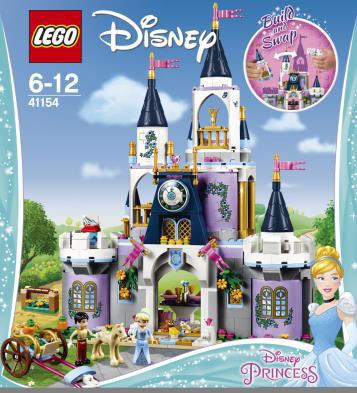 レゴ ディズニー シンデレラのお城(41154)[レゴジャパン]《02月予約》