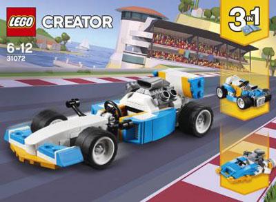 レゴ クリエイター スーパーカー(31072)[レゴジャパン]《在庫切れ》