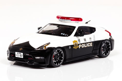 1/43 日産 フェアレディ Z NISMO (Z34) 2016 警視庁高速道路交通警察隊車両[RAI'S]《発売済・在庫品》