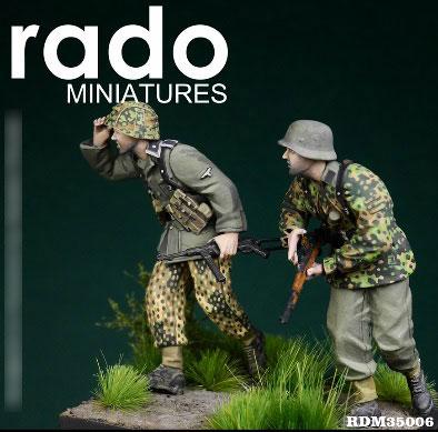 1/35 WWII独 第5SS装甲師団ヴィーキング ポーランド1944(2体セット)[Rado Miniatures]《在庫切れ》
