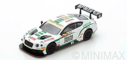 1/64 Bentley Continental GT3 No.88 Macau GP FIA GT World Cup 2015 Bentley Team Absolute Keita Sawa[スパーク]《在庫切れ》