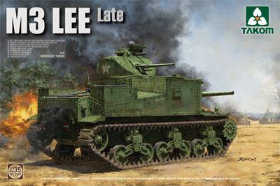 1/35 米軍 M3 リー 中戦車 (後期型) プラモデル[TAKOM]《発売済・在庫品》