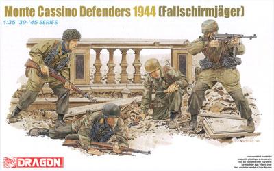 1/35 WW.II ドイツ軍 降下猟兵 モンテカッシーノ防衛戦 1944 プラモデル[ドラゴンモデル]《取り寄せ※暫定》