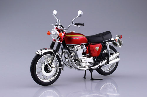 1/12 完成品バイク Honda CB750FOUR(K0) キャンディレッド