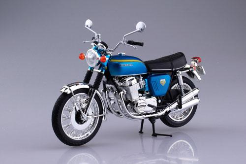 1/12 完成品バイク Honda CB750FOUR(K0) キャンディブルー