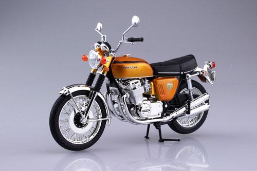 1/12 完成品バイク Honda CB750FOUR(K0) キャンディゴールド