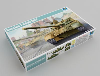 1/35 ロシア連邦軍 T-80UD主力戦車 プラモデル[トランペッターモデル]《01月予約》