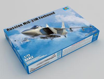 1/72 MiG-31M フォックスハウンド プラモデル[トランペッターモデル]《01月予約※暫定》