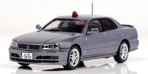 1/43 日産 スカイライン 25GT-X (ER34) 2000警視庁刑事部機動捜査隊車両 [Silver](宮沢模型流通限定)[RAI'S]《発売済・在庫品》
