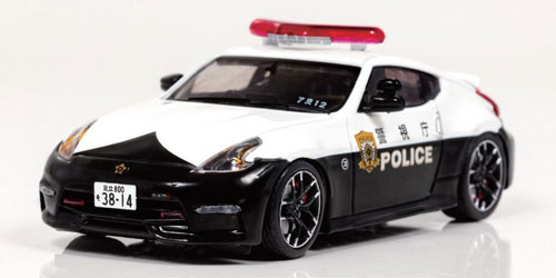 1/43 日産 フェアレディ Z NISMO (Z34) 2016 警視庁交通部交通機動隊車両 [7交12](宮沢模型流通限定)[RAI'S]《発売済・在庫品》
