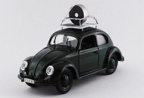 1/43 フォルクスワーゲン ビートル ヴィースバーデン警察速度制御車 1957[RIO(リオ)]《取り寄せ※暫定》