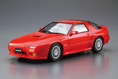 ザ・モデルカー No.64 1/24 マツダ FC3S サバンナRX-7 '89 プラモデル[アオシマ]《03月予約》