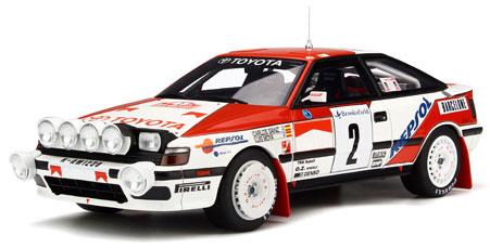 1/18 トヨタ セリカ ST165 モンテカルロラリー 1991 #3 C.Sainz (ホワイト/レッド)[OttO mobile]《在庫切れ》