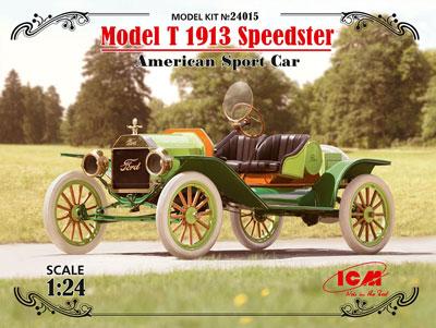 1/24 T型 フォード 1913 スピードスター プラモデル[ICM]《発売済・在庫品》