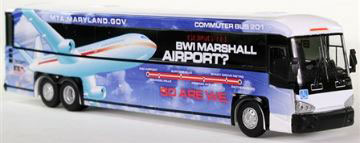 1/87 MCI D4505 メリーランドMTA (アメリカ の路線バス)[Iconic Replicas]《在庫切れ》