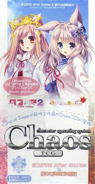 【特典】ChaosTCG ブースターパック タユタマ2 After Stories & 縁りて此の葉は紅に 20パック入りBOX