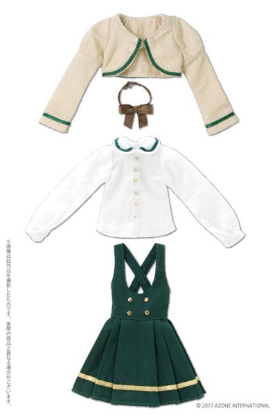 ピュアニーモ用ウェア PNS ボレロ制服セット グリーン