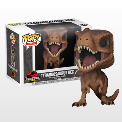 ポップ! 『ジュラシック・パーク』ティラノサウルス・レックス[ファンコ]《06月仮予約》