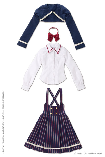 48/50cm用 AZO2 ボレロ制服セット ネイビー(ドール用衣装)[アゾン]《02月予約》