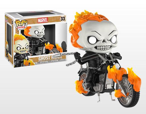 ポップ!『マーベル・コミック』 ゴーストライダー&ヘルバイク[ファンコ]《03月仮予約》