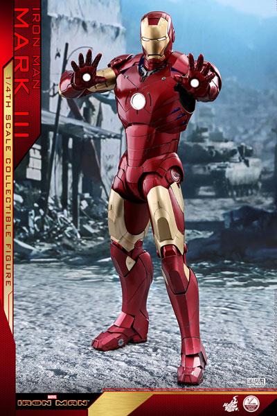 クオーター・スケール 『アイアンマン』アイアンマン・マーク3 ※延期・前倒し可能性大[ホットトイズ]【同梱不可】【送料無料】《07月仮予約》