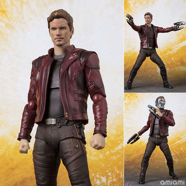S.H. Figuarts - Star-Lord (Avengers: Infinity War)(Pre-order)S.H.フィギュアーツ スター・ロード (アベンジャーズ/インフィニティ・ウォー)Scale Figure