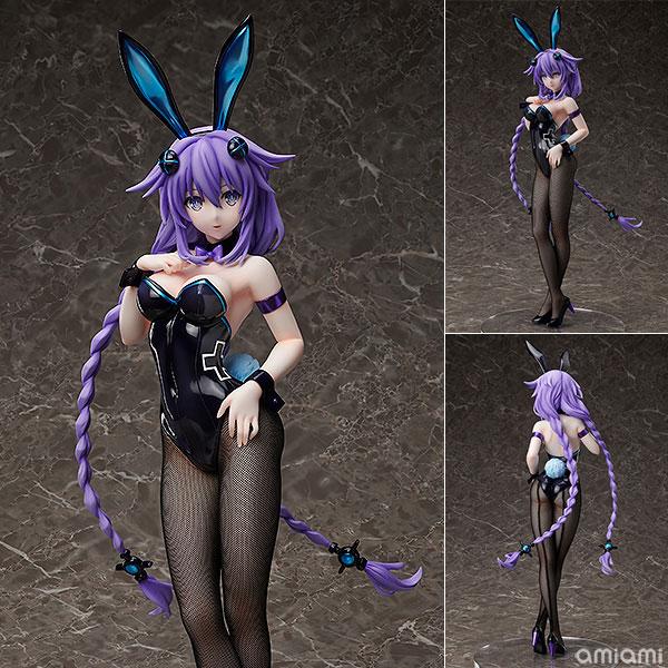 B-STYLE - Hyperdimension Neptunia: Purple Heart Bunny Ver. 1/4 Complete Figure(Pre-order)B-STYLE 超次元ゲイム ネプテューヌ パープルハート バニーVer. 1/4 完成品フィギュアScale Figure