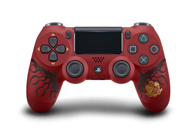 PS4用 ワイヤレスコントローラー(DUALSHOCK4) MONSTER HUNTER: WORLD LIOLAEUS EDITION[SIE]【送料無料】《01月予約》