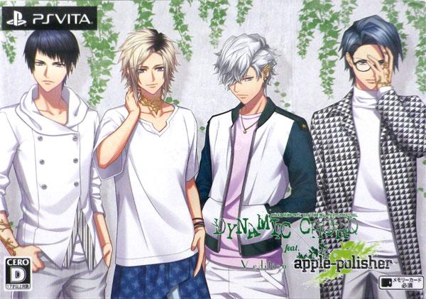 PS Vita DYNAMIC CHORD feat.apple-polisher V edition 初回限定版[honeybee black]《06月予約》