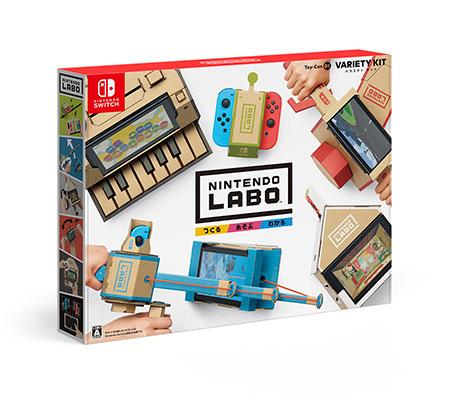 Nintendo Switch Nintendo Labo Toy-Con 01: Variety Kit[任天堂]【送料無料】《発売済・在庫品》