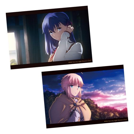 劇場版「Fate/stay night [Heaven's Feel]」 ヴィジュアルコレクション 20個入りBOX (食玩)[バンダイ]《03月予約》