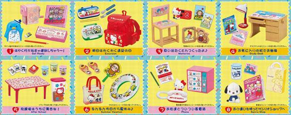 サンリオキャラクターズ 恋するサンリオメモリーズ 8個入りBOX (食玩)(再販)[リーメント]《05月予約》
