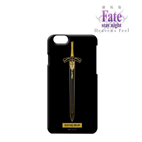 劇場版「Fate/stay night [Heaven's Feel]」箔プリントiPhoneケース(エクスカリバー)(対象機種/iPhone X)