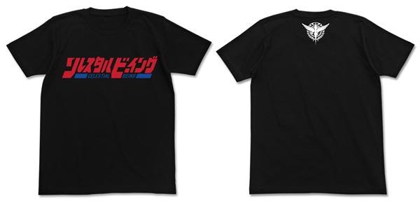 機動戦士ガンダム00 劇場版ソレスタルビーイング Tシャツ/BLACK-M(再販)[コスパ]《06月予約》