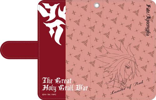 「Fate/Apocrypha」 手帳型スマートフォンケース 赤のランサー[ムービック]《発売済・在庫品》