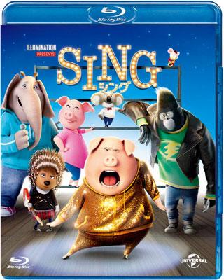 BD SING/シング (Blu-ray Disc)[NBC]《取り寄せ※暫定》