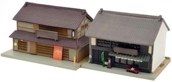 建物コレクション 057-3 蕎麦屋・茶屋3[トミーテック]《05月予約》
