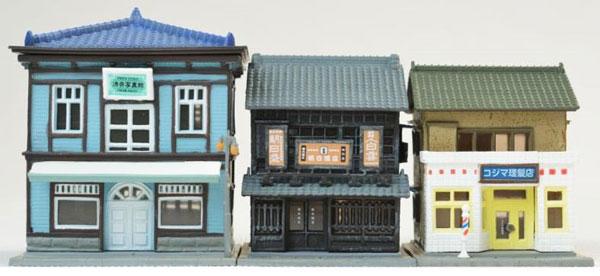 建物コレクション 158 商店街セットB[トミーテック]《05月予約》