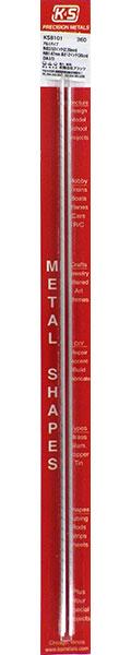 アルミパイプ 外径3/32インチ(2.39mm) 内径1.67mm 長さ12インチ(30cm)(3本入り)[K&S]《在庫切れ》