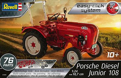 1/24 トラクター ポルシェ ディーゼル ジュニア 108 プラモデル[ドイツレベル]《在庫切れ》