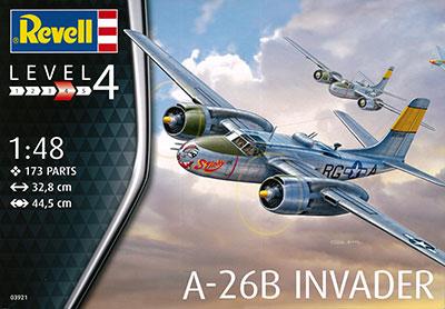 1/48 A-26B インベーダー プラモデル[ドイツレベル]《取り寄せ※暫定》