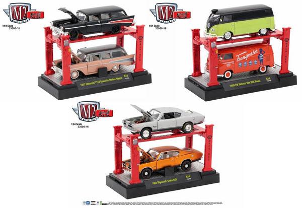 1/64 scale  Auto-Lift Release 16 3個入りアソート[M2 Machines]《在庫切れ》