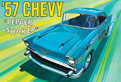 1/25 1957 シェビー ペッパー・シェイカー プラモデル[AMT]《02月予約》