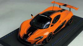 1/43 マクラーレン P1 GTR オレンジ/ブラックストライプ[ピーコ]《02月仮予約》